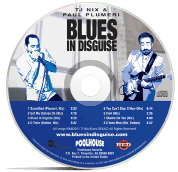 Blues In Disguise CD
